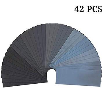 36-Sheet 120 To 3000 Assorted Grit Sandpaper 23 x 9 cm 36-Sheet sandpaper