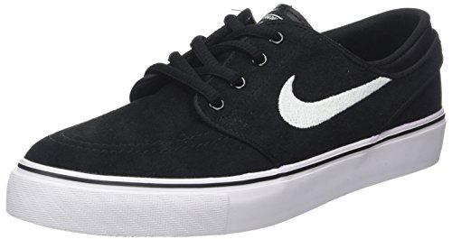 Nike Kids Stefan Janoski (GS) Black/White Gum Med Brown Skate Shoe 4.5 Kids US