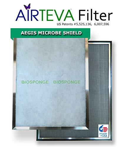 AIRTEVA Custom Sized Furnace Filter with BioSponge Insert(s) (Custom Furnace Filters)