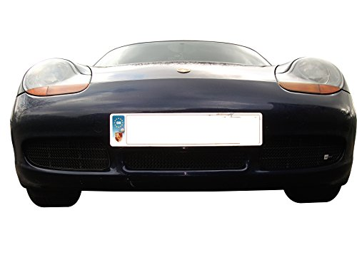 - Zunsport Compatible with Porsche Boxster S 986 - Front Grille Set - Black Finish (1996 to 2004)