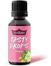 GymQueen Tasty Drops 30ml | Kalorienfreie, Zuckerfreie und Fettfreie Flavour Drops | Aroma Tropfen zum Süßen von Lebensmitteln | Geschmackstropfen ohne Künstliche Farbstoffe