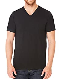 Men's Unisex Short Sleeve Tri Blend V-Neck Tee T-Shirt