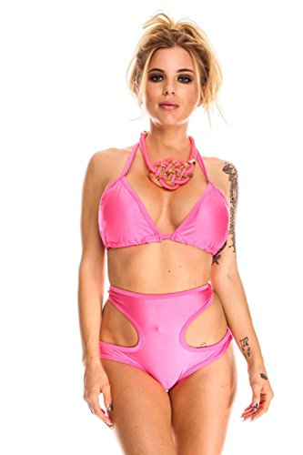 Pinkyee - Conjunto - para mujer Rosa