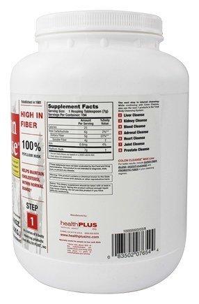 Health Plus Colon Cleanse, Regular Jar, 48 Ounce