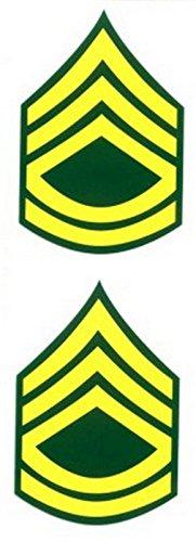 Army Sergeant First Class Decal Sticker (Sticker Crest)
