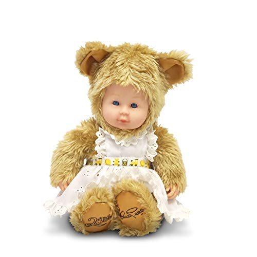 Anne Geddes 20th Anniversary Baby Girl Bear Doll