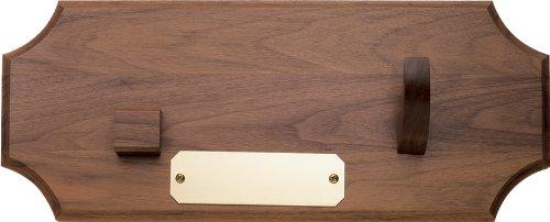 Case Cutlery Presentation Plaque Walnut