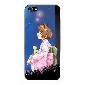(Cardcaptor Sakura) Card Captor Sakura Caso Cubrir Concha Para i Phone 4 4S