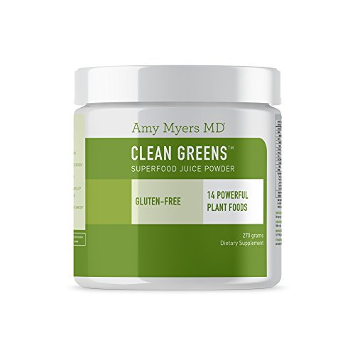 Clean Greens™ Superfood Juice Powder from The Myers Way Protocol – Contains 14 Powerful USDA Certified Organic Plant Foods – Dietary Supplement, 270 Grams 30 Servings – from Dr. Amy Myers