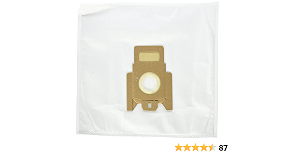10 Bags and 4 Filters TVP Replacement for Miele G//N Synthetic Bags and Filters