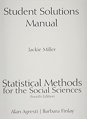 Student Solutions Manual for Statistical Methods for the