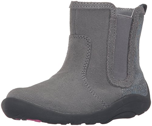 Stride Rite SRTech Estefana Boot (Toddler), Grey, 6 M US Toddler