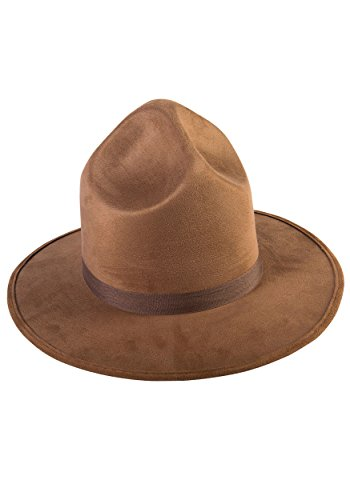 Forum Novelties Party Supplies Unisex-Adults Extra Tall Mountie Hat, Brown, Standard, Multi