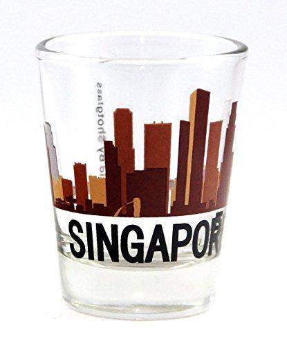 Singapore Sunset Skyline New Shot - Glasses Singapore