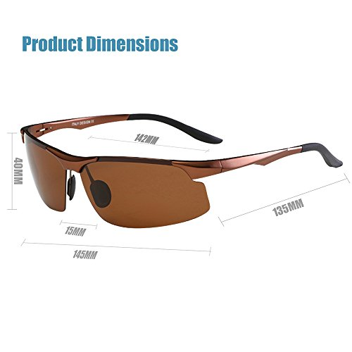 6e6a4c4231 Men s Polarized Sunglasses For Men Driving Fishing Golf Climbing Running  Sports Style Metal Frame Glasses