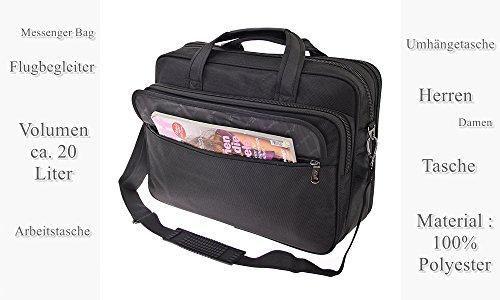 Businestasche Aktentasche Arbeitstasche Schultasche Messenger Bag Tasche Umhängetasche Messenger Bag Schultertasche (Modell 3) Modell 1 YjooYlXT
