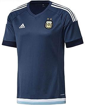 2015-16 lejos Argentina Fútbol de corto camiseta #10 Messi No Number Talla:
