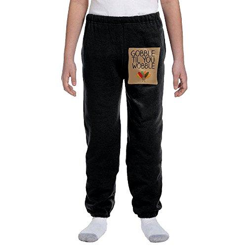 OMALA Thanksgiving Young's Warm Long Pants L