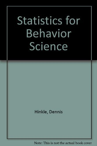 Applied Statistics for the Behavioral Sciences (Workbook)