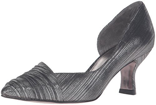 Adrianna Papell Women's Harriet D'Orsay Pump Pewter free shipping order Ju86b