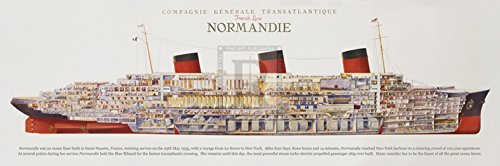 OKSLO Compagnie Generale Transatlantique Poster Print by The Vintage Collection (24 x