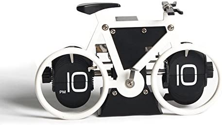 cleck - Reloj de Cuarzo para Bicicleta, diseño de Cascabel, Estilo británico, Blanco, Blanco: Amazon.es: Hogar