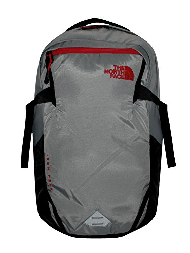 The North Face Unisex Iron Peak Backpack (Zinc Grey / Tnf Red) (Zinc Grey North Face Backpack)