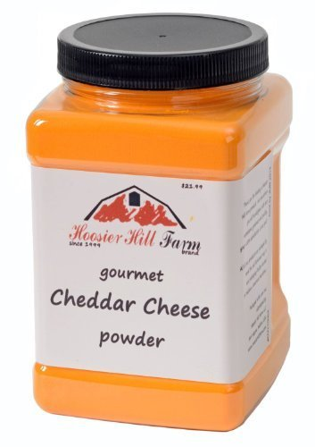 Real Cheese Cheddar (Hoosier Hill Farm Cheddar Cheese Powder, Cheese lovers 2.5 lb. size)