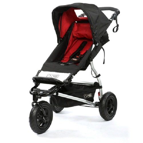Mountain Buggy Swift Compact Stroller, Chili (Discontinued by Manufacturer)