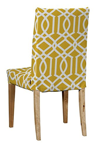 Sensational Dekoria Ikea Henriksdal Chair Cover White Pattern On Pdpeps Interior Chair Design Pdpepsorg