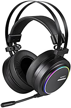 Aukey GH-S5-B Over-Ear USB Gaming Headphones
