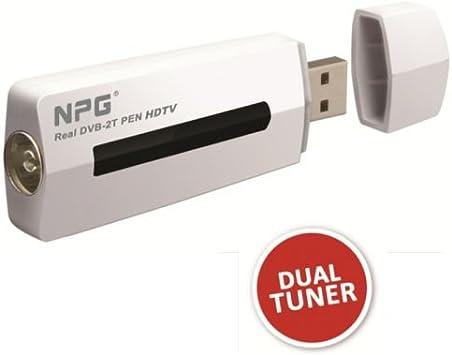 Npg - Real dvb 2t TDT para Ordenador. 2 sintonizadores