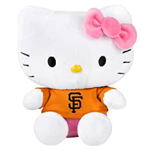 MLB San Francisco Giants 8 Shirtable Hello Kitty Plush