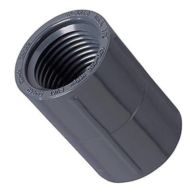 """Orbit 1/2"""" Female Thread PVC Coupling Sprinkler Pipe Irrigation Fitting Coupler"""