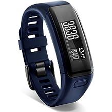 Garmin Vivosmart HR Smart Activity Tracker, Blue, Regular (Refurbished)