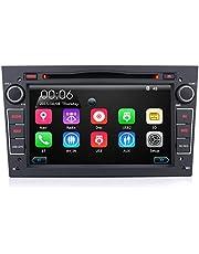 iFreGo 7 inch 2 Din autoradio met navi voor Opel, touchscreen autoradio, gps-navigatie, autoradio dvd-cd, autoradio bluetooth, Windows CE, autoradio dab + (zwart)