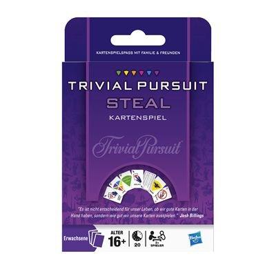 Hasbro 28677100 - Juego de cartas Trivial Pursuit Steal ...