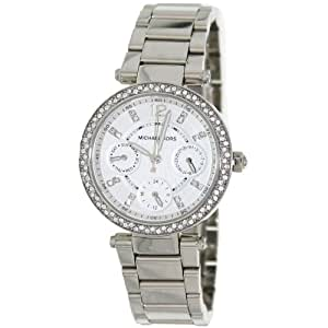 Michael Kors Women's MK5615 Parker Silver Watch