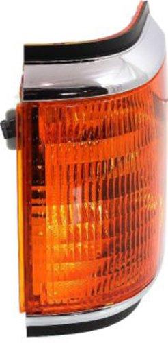 Crash Parts Plus Left Side DOT/SAE Corner Light for Ford Bronco, F-Series FO2520108