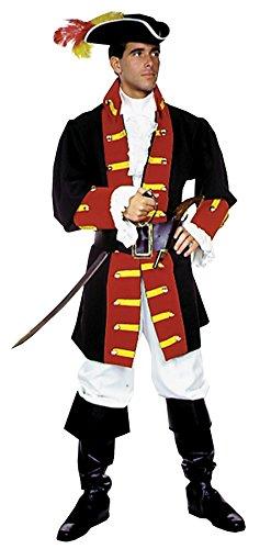 Adult Captain Hook Prince Charming Mens Costume - Capt Hook Costumes