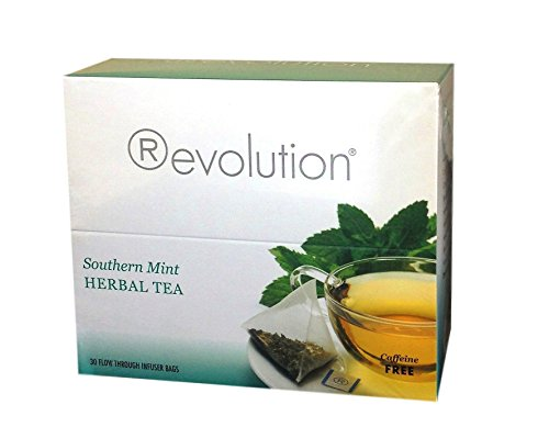 Revolution Southern Mint Herbal Tea, 30-Count Tea (Revolution Mint)