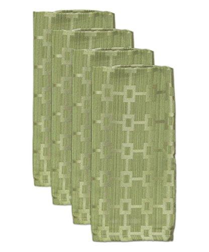 - HomeCrate Elegant Chandler Collection Spill Proof Microfiber Napkins, 19
