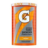 Gatorade G Series Orange Thirst Quencher, 1.23 Ounce Powder Packs, 8 count