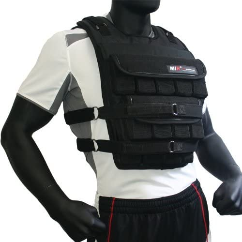 miR – Adjustable Weighted Vest Long Style Pro Plus, 140lbs