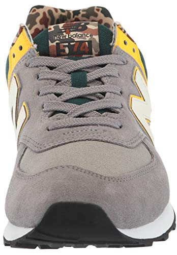 Gunmetal Baskets Homme steel New Balance Ml574v2 wa8EBnEIq0