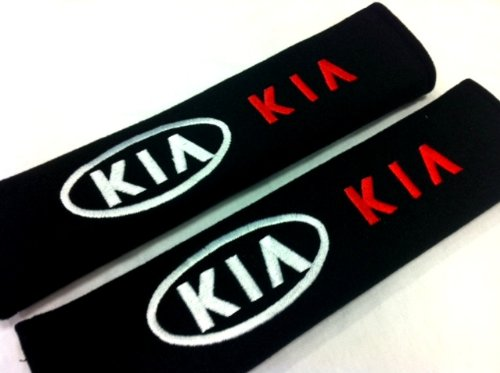 Kia Seat Belt Cover Shoulder Pad Cushion  2 Pcs