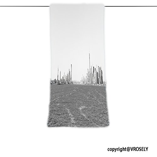 VROSELV Custom Towel Soft and Comfortable Beach Towel-panoramic view of new york city taken from the ferry to staten island Design Hand Towel Bath Towels For Home Outdoor Travel Use - Staten Island Boutiques