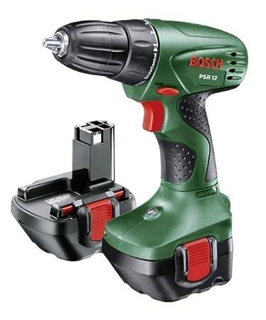 Bosch Home and Garden 0.603.955.501 Atornilladora taladradora a batería, 12 W, 12 V