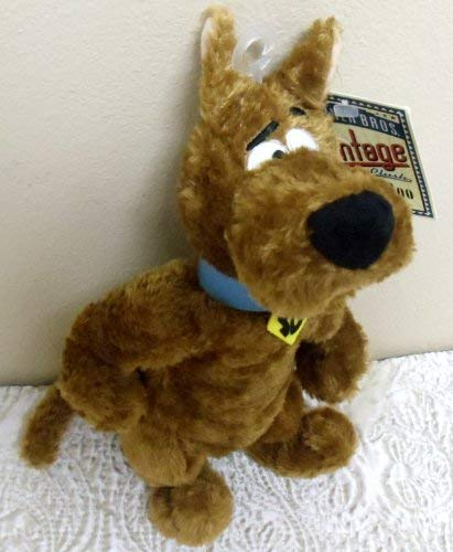"Retired Warner Brothers Scooby Doo Vintage Style 9"" Plush Bean Bag Doll"