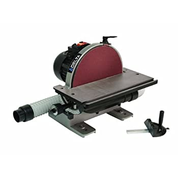 Image of Home Improvements Delta Power Equipment Corp 31-140 Disc Sander, 1/2 Horse Power, 12-Inch